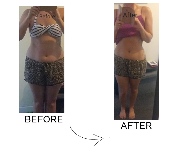 Amy's Nutribuddy Before & After Pictures